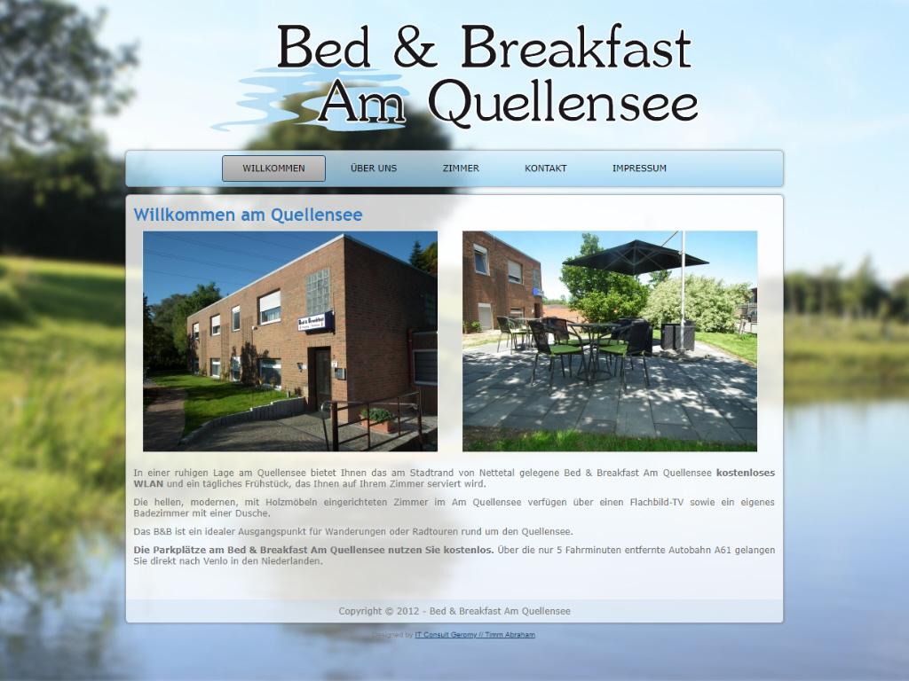 Bed & Breakfast Am Quellensee