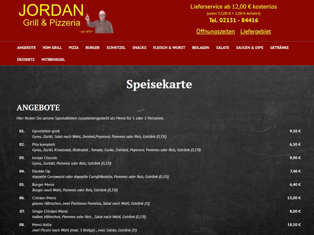 Jordan Grill & Pizzeria